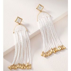 Stella & Dot Ashley Tassel Earrings 2-1